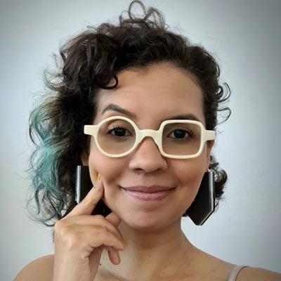 Rebeca Lisboa - Realizadora da Mostra Literária de Salvador